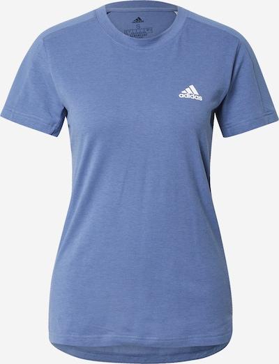 ADIDAS PERFORMANCE Camiseta funcional en azul / blanco, Vista del producto
