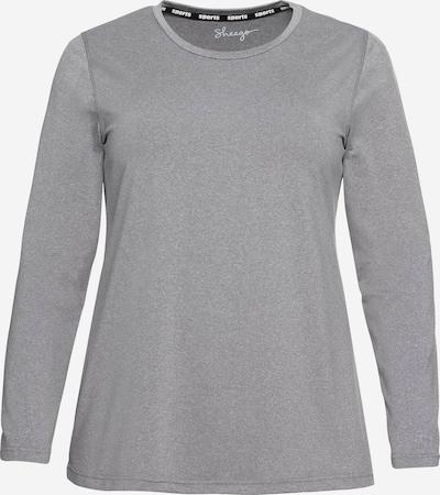 SHEEGO Funktions-Langarmshirt in graumeliert, Produktansicht