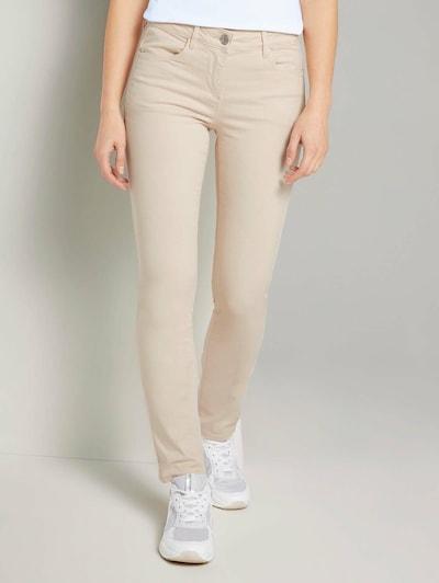 TOM TAILOR Jeans in de kleur Crème / Lichtbeige, Modelweergave