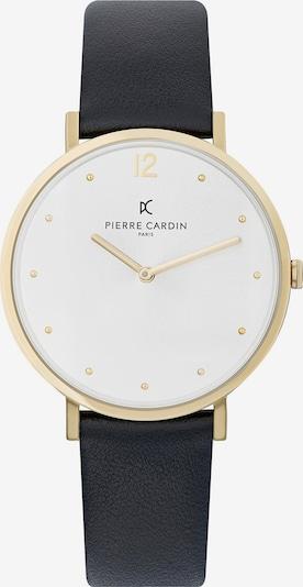 PIERRE CARDIN Uhr in gold / schwarz / weiß, Produktansicht