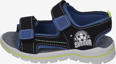 RICOSTA Sandals & Slippers in Blue / Black, Item view