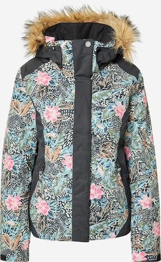 ROXY Outdoorjas 'JET' in de kleur Gemengde kleuren / Zwart, Productweergave