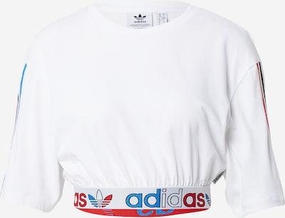 ADIDAS ORIGINALS Shirt in royalblau / rot / schwarz / weiß, Produktansicht