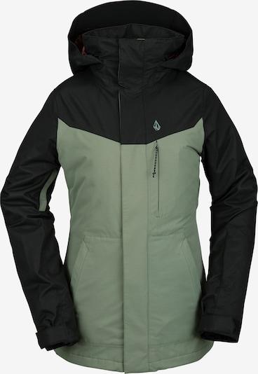 Volcom Snowboardjacke in grün / schwarz, Produktansicht