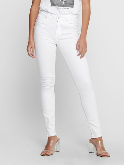 ONLY Jeans 'onlBLUSH MID ANKLE WHITE' in de kleur Wit, Modelweergave