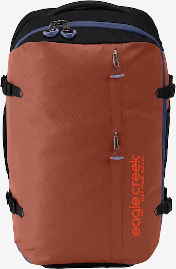 EAGLE CREEK Rucksack in blau / dunkelgrau / orange, Produktansicht
