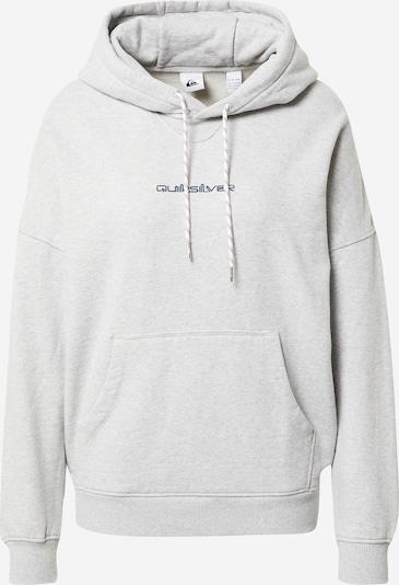 QUIKSILVER Sweater majica 'OVERSIZED HOODIE' u svijetlosiva, Pregled proizvoda
