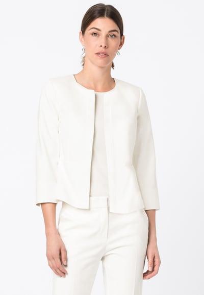 HALLHUBER Blazer in weiß, Modelansicht