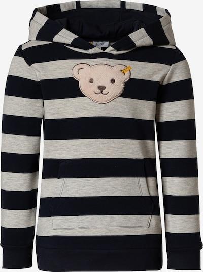 STEIFF Sweatshirt in Light brown / Grey / Black, Item view