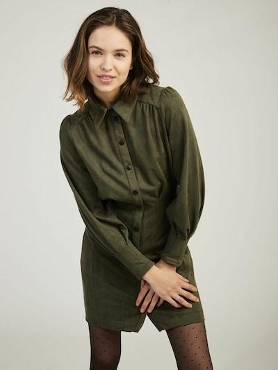 NAF NAF Kleid ' FERRET ' in grün, Modelansicht