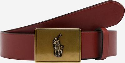 POLO RALPH LAUREN Riem 'Pony' in de kleur Roestbruin, Productweergave