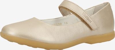 KICKERS Ballerina in elfenbein, Produktansicht