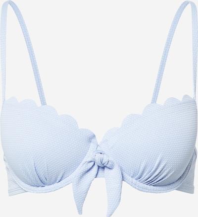 Bikinio viršutinė dalis 'Scallop' iš Hunkemöller , spalva - šviesiai mėlyna, Prekių apžvalga