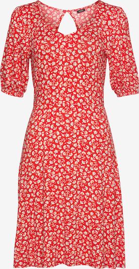 VIVANCE Kleid in beige / creme / rot, Produktansicht
