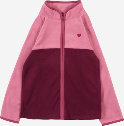 OshKosh Fleece jas in de kleur Bessen / Pink, Productweergave