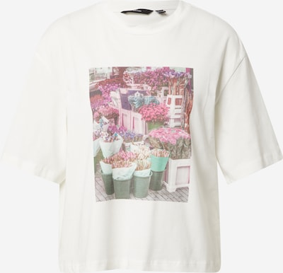 VERO MODA Shirt 'FAIRY' in mischfarben / weiß, Produktansicht