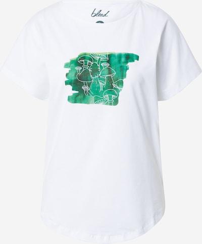 bleed clothing Shirt in grün / weiß, Produktansicht