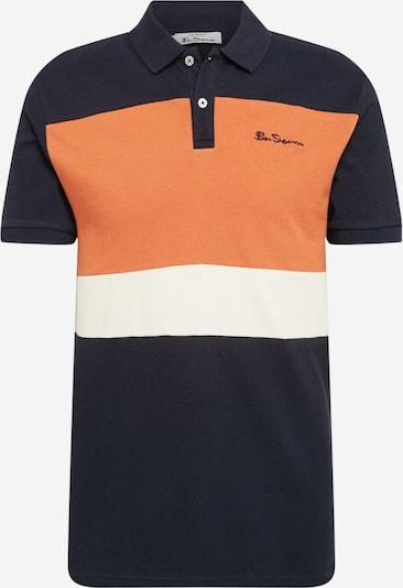 Ben Sherman Tričko - tmavomodrá / oranžová / biela, Produkt