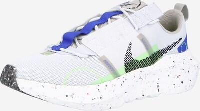 Nike Sportswear Sneaker 'Crater' in royalblau / hellgrau / pastellgrün / schwarz, Produktansicht
