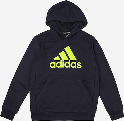 ADIDAS PERFORMANCE Sweatshirt 'Must Have' in nachtblau / gelb, Produktansicht
