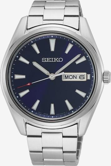 SEIKO Uhr in navy / silber, Produktansicht