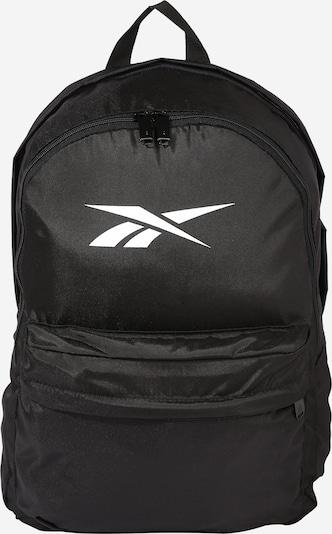 REEBOK Sportrucksack in schwarz / weiß, Produktansicht