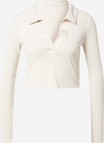 ABOUT YOU Shirt 'Nelly' in Beige