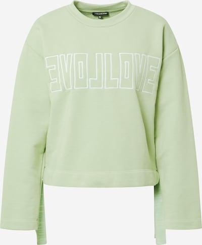 ONE MORE STORY Sweatshirt in mint / weiß, Produktansicht