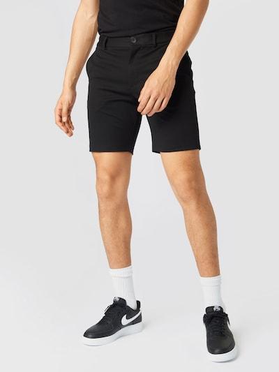 JACK & JONES Chino 'Phil' in de kleur Zwart, Modelweergave