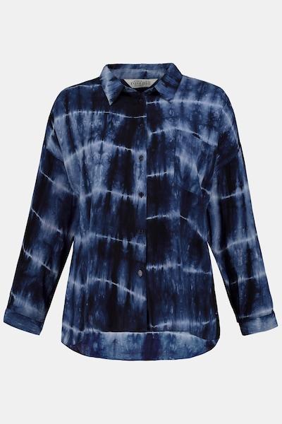 Studio Untold Hemdbluse in blau / schwarz, Produktansicht