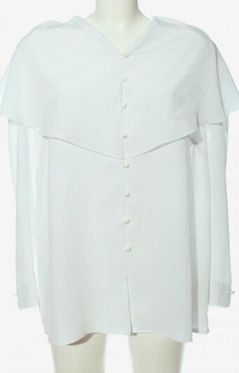 Doris Streich Langarm-Bluse in XXXL in weiß, Produktansicht