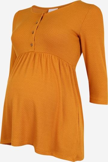 Tricou MAMALICIOUS pe galben auriu, Vizualizare produs