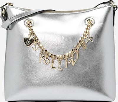 POLLINI Bolso de mano en plata, Vista del producto