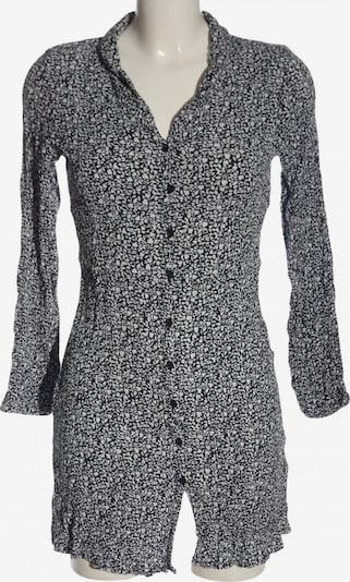 ICHI Hemdblusenkleid in XS in schwarz / weiß, Produktansicht