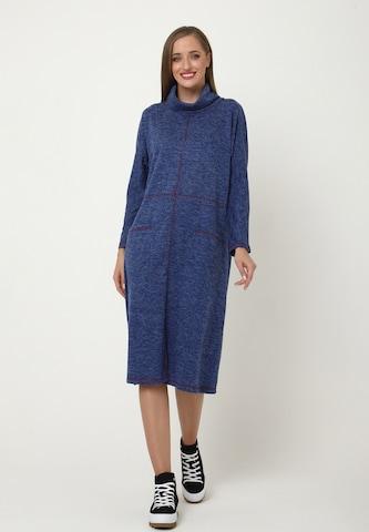 Madam-T Dress 'Tessa' in Blue