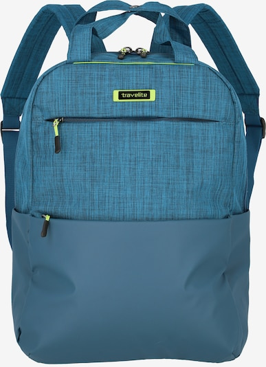 TRAVELITE Proof Rucksack 40 cm in petrol: Frontalansicht