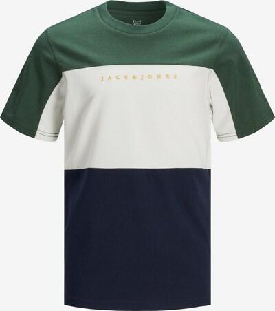 Jack & Jones Junior T-Shirt in nachtblau / dunkelgrün / weiß, Produktansicht