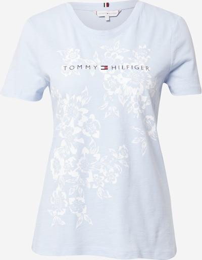 TOMMY HILFIGER T-Shirt in navy / hellblau / rot / weiß, Produktansicht