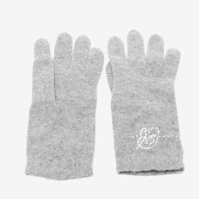 Blumarine Handschuhe in XS in grau, Produktansicht