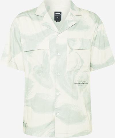 Dr. Denim Skjorta 'Madi' i mint / pastellgrön / svart / vit, Produktvy
