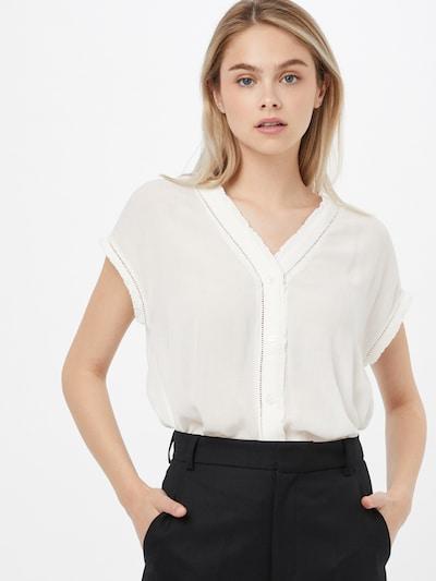 ESPRIT Bluse in offwhite, Modelansicht