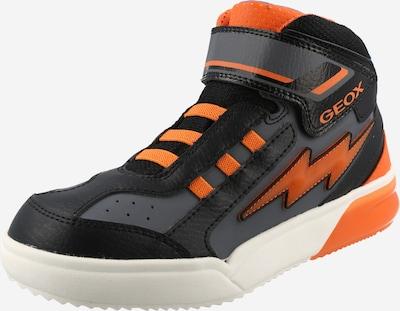 Sneaker GEOX Kids pe portocaliu / negru, Vizualizare produs