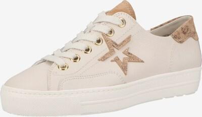 Paul Green Sneaker in beige / braun, Produktansicht