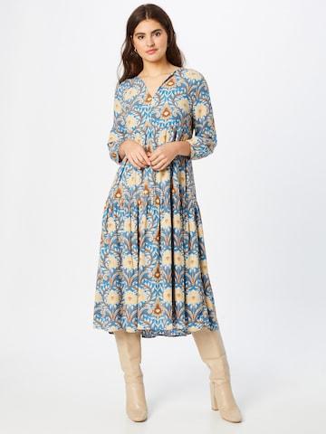 Rich & Royal Dress in Blue