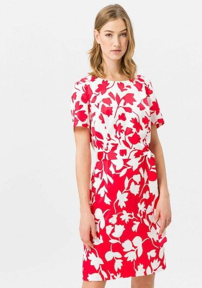 Uta Raasch Kleid 'halbarm' in rot, Modelansicht