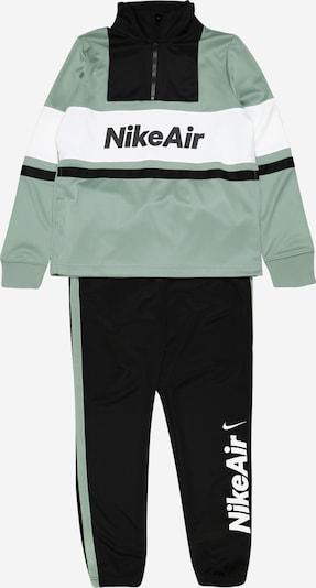 Nike Sportswear Trainingsanzug in mint / schwarz / weiß, Produktansicht