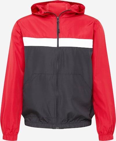BRAVE SOUL Tussenjas in de kleur Rood / Zwart / Wit, Productweergave
