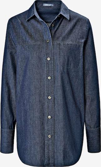 DAY.LIKE Langarmbluse 'Bluse' in blau, Produktansicht