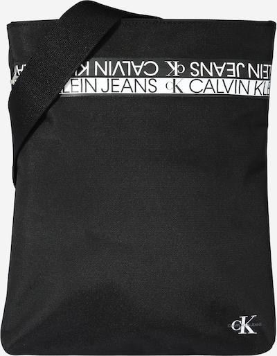 Calvin Klein Jeans Torba za čez ramo | črna / bela barva, Prikaz izdelka