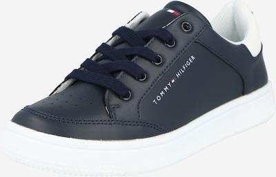 Sneaker TOMMY HILFIGER pe navy / roșu / alb: Privire frontală
